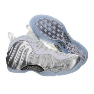 NEW Nike Air Foamposite One Chrome Blue Tint Shoes